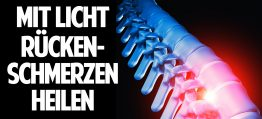 Mit Licht Rückenschmerzen heilen