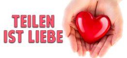 Teilen ist Liebe: Wie das Geben uns verwandelt