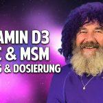 Robert Franz über Vitamin D3, OPC, K2 & MSM