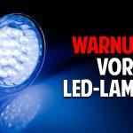 Warnung vor LED-Lampen: Warum künstliches Licht schädlich für uns ist – Dr. Alexander Wunsch